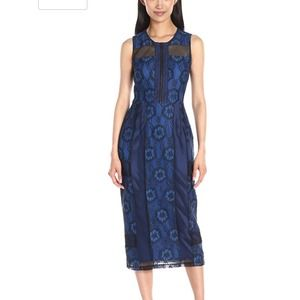 Rachel Roy women's lace midi dress size 4